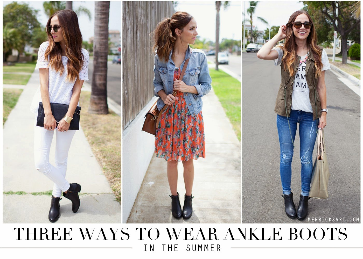 Merrick 39 S Art Style Sewing For The Everyday Girl3 Ways To Wear Your Ankle Boots During The
