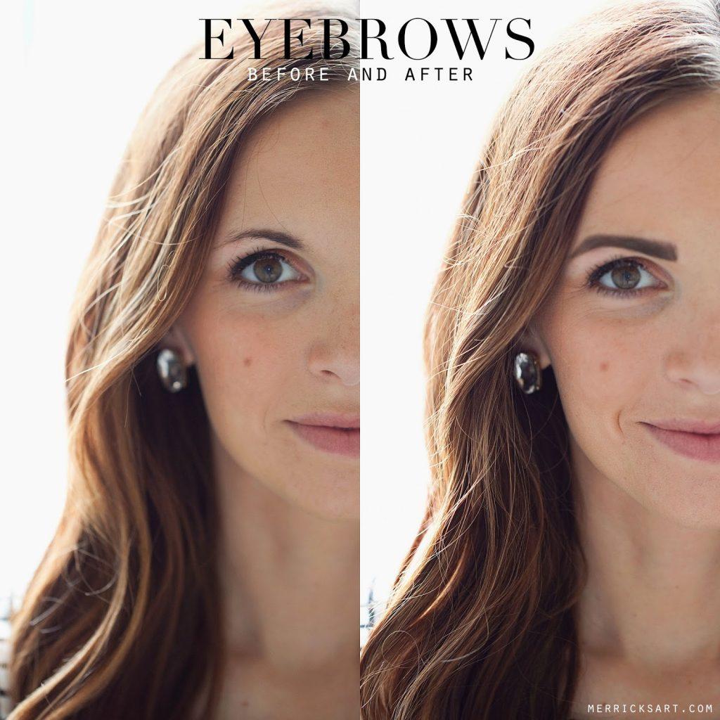 Filling In Your Eyebrows Tutorial Merricks Art Merricks Art