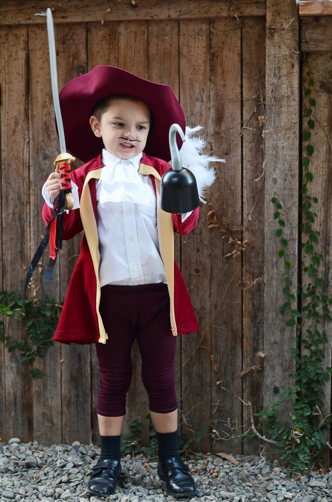 I had SUCH a blast making these costumes and although I was most nervous about that Captain Hook coat I am super pleased with how it came out.  sc 1 st  Merricku0027s Art & HOMEMADE HALLOWEEN: PETER PAN AND CAPTAIN HOOK COSTUMES | Merricku0027s ...
