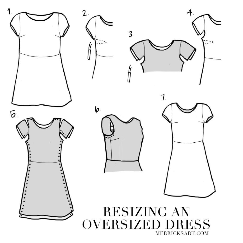 DIY FRIDAY: WHITE EYELET DRESS REFASHION | Merrick's Art | Merrick's Art