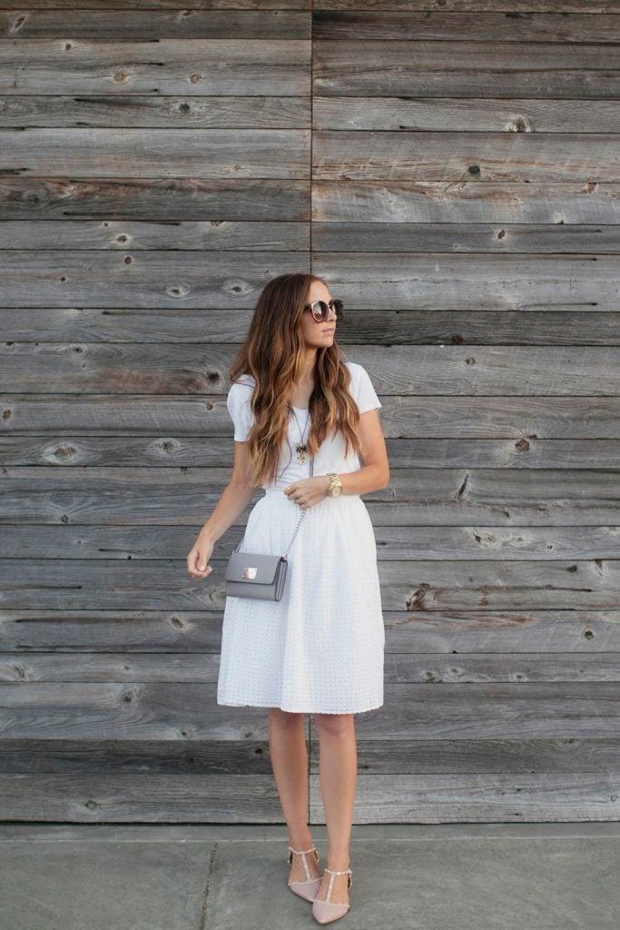 Merrick's Art   Easy Strapless Dress to Skirt Refashion