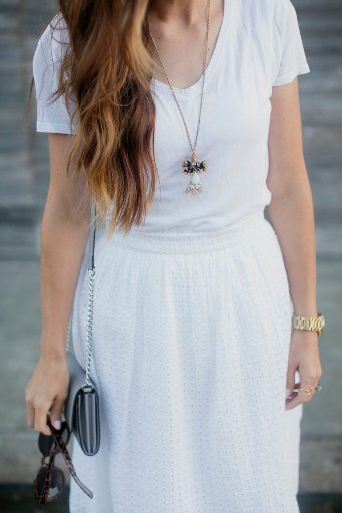 Merrick's Art | Easy Strapless Dress to Skirt Refashion