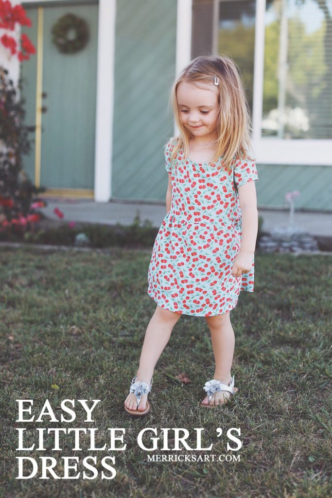 Little Girls Nails And Girls On Pinterest: DIY FRIDAY: EASY DIY LITTLE GIRL'S DRESS