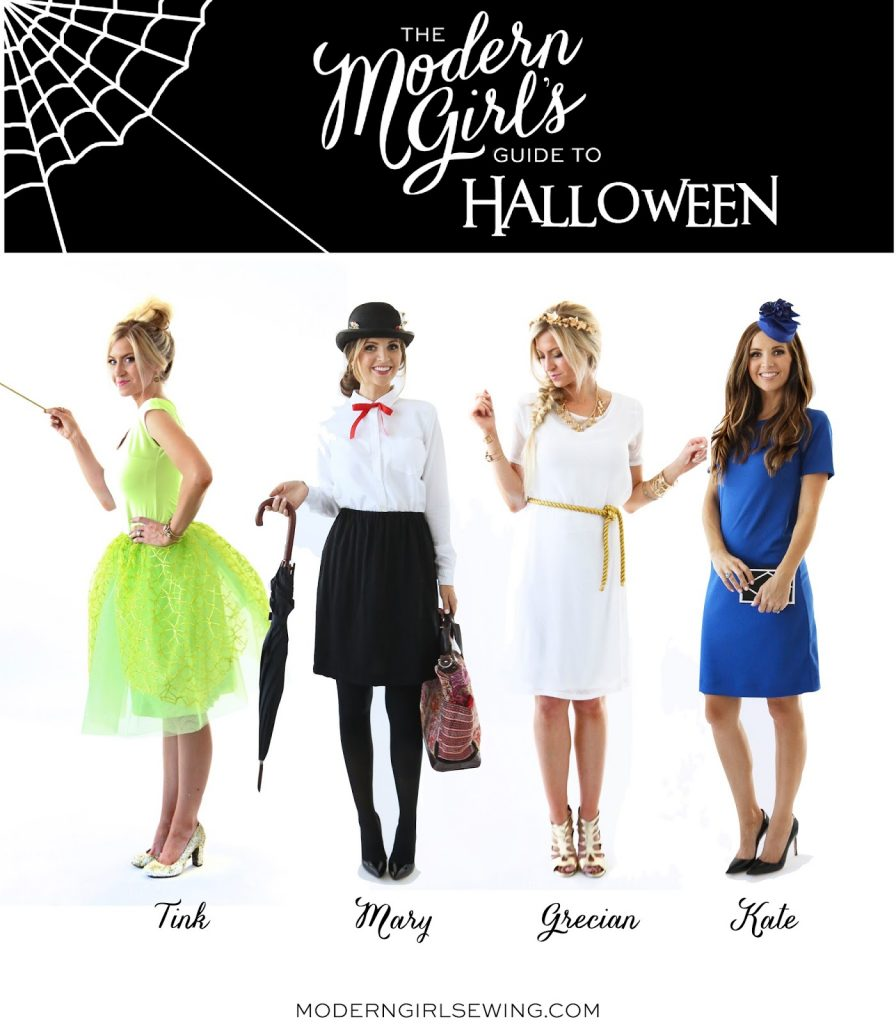 diy friday: 4 easy diy halloween costumes | merrick's art