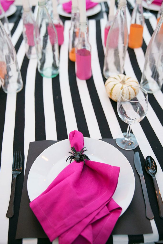 Merrick's Art | Halloween Party Place Setting