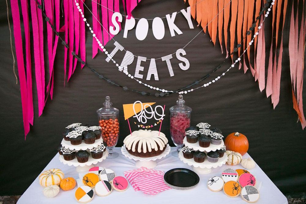 Merrick's Art   Halloween Party Dessert Table