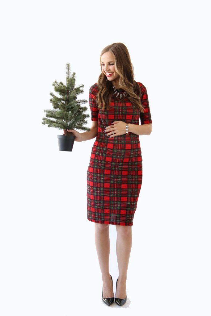 Merrick's Art   Red Plaid Holiday Dress, The Modern Girl's Guide to Sewing