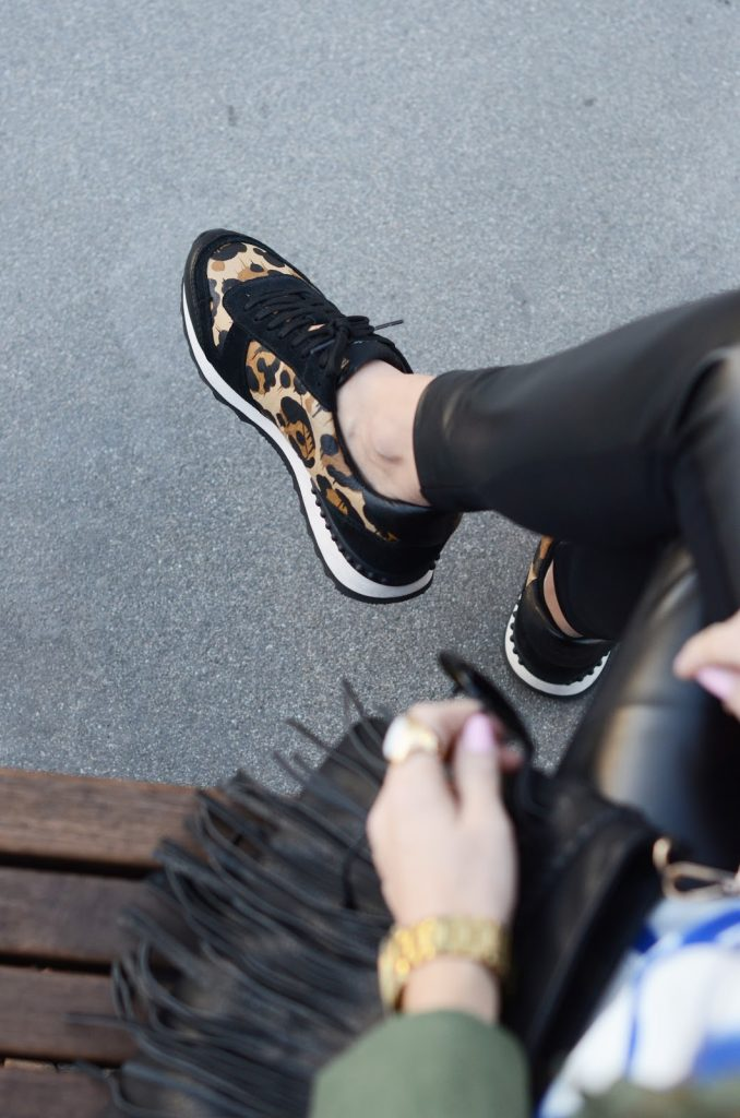 Merrick's Art | Coach Leopard Sneakers