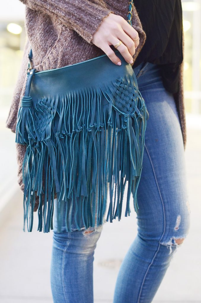 Merrick's Art   ELF Fringe Bag