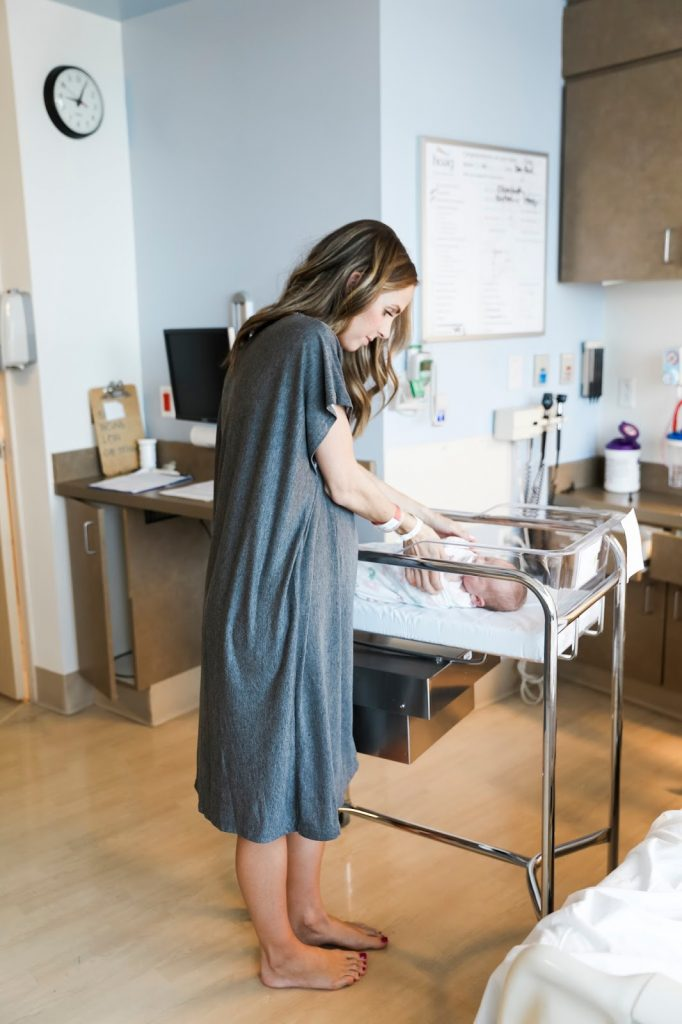 About a year ago one of my friends sent me an image of a mom in the hospital,  wearing a super slouchy t-shirt dress. She was close to expecting baby #2  and ...
