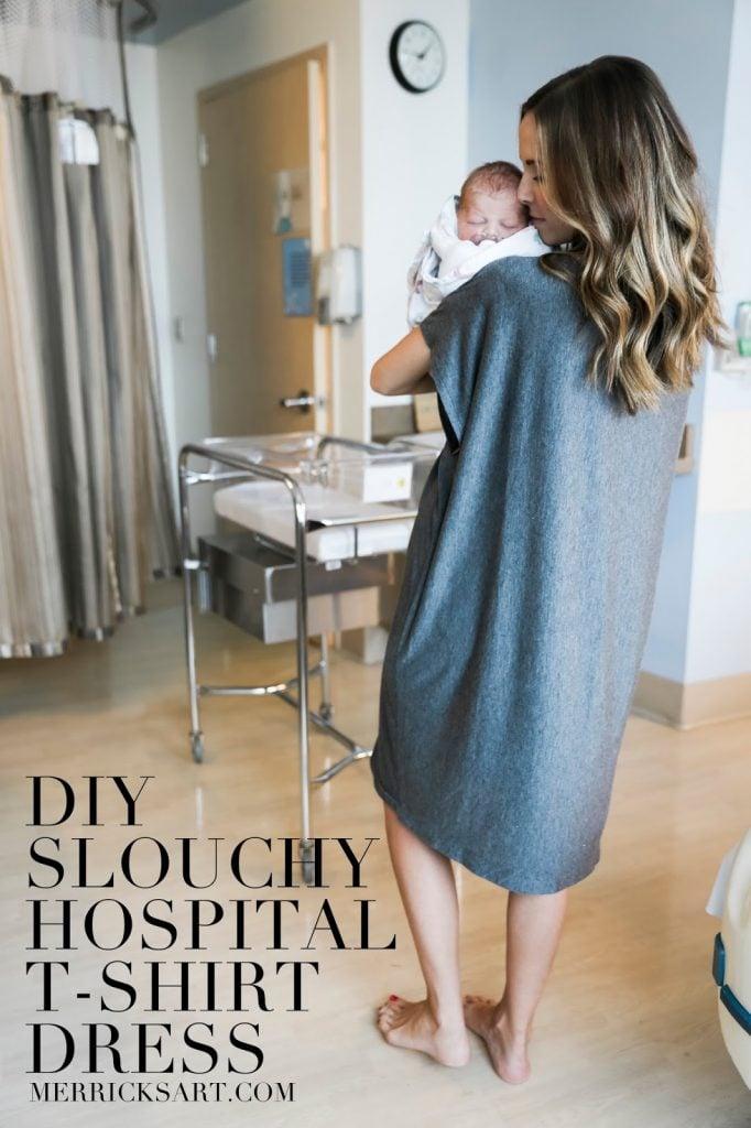 DIY FRIDAY: SLOUCHY HOSPITAL T-SHIRT DRESS | Merrick\'s Art ...