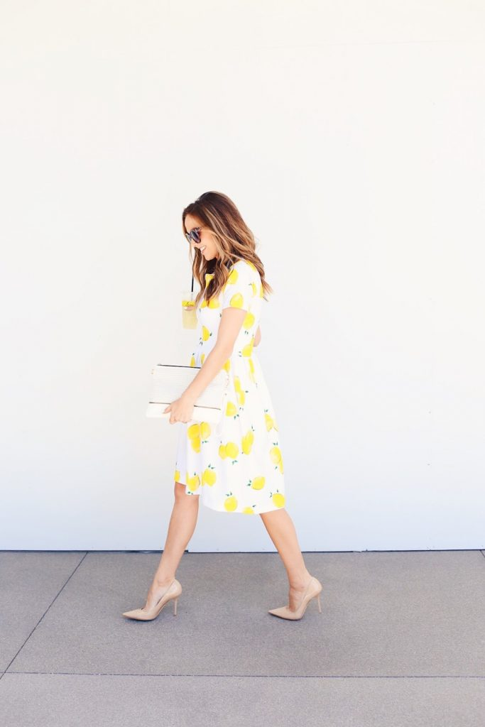 This fit and flare dress pattern is a perfect sewing project for summer