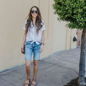 outfit ideas for bermuda shorts