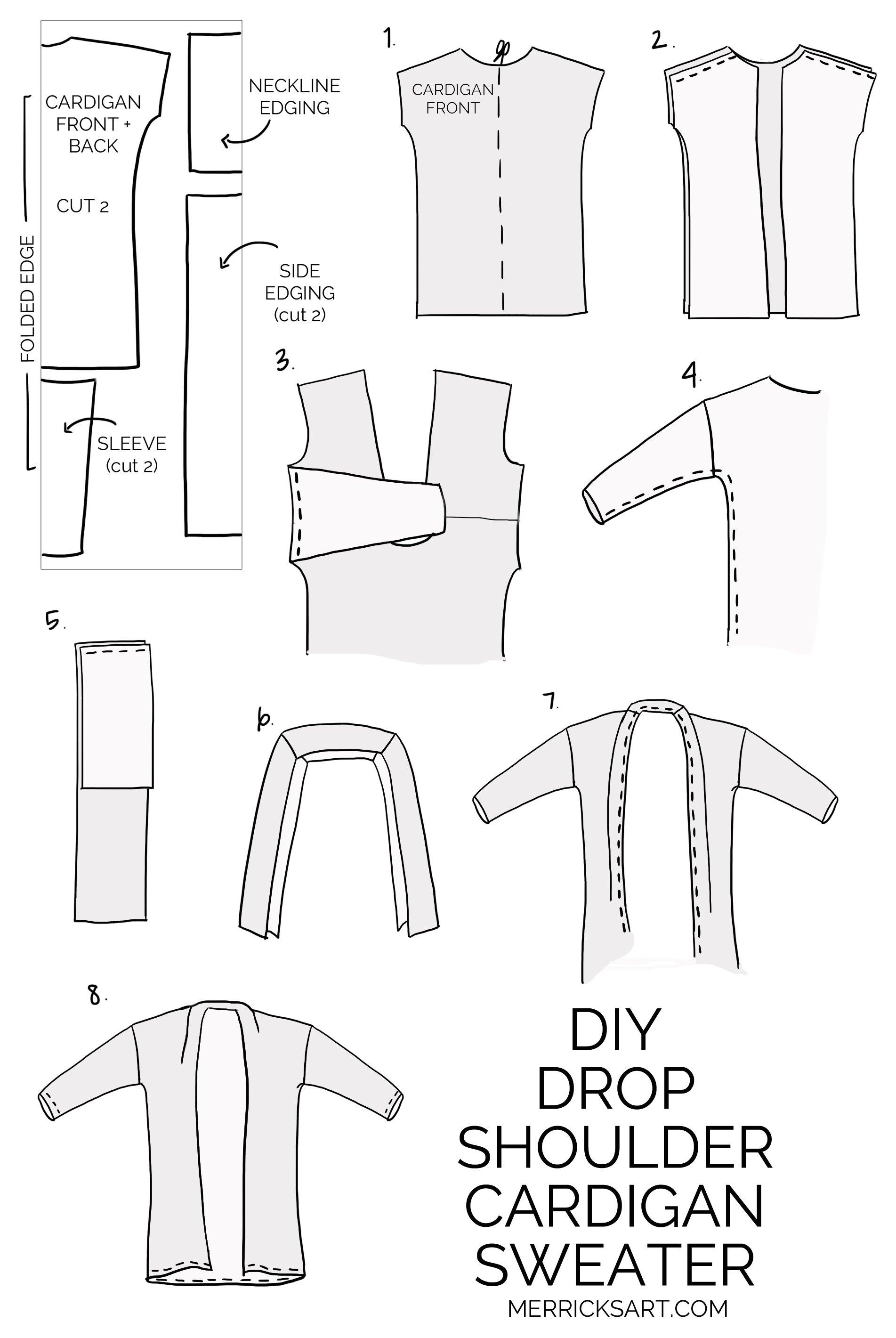 DIY Cardigan Sweater