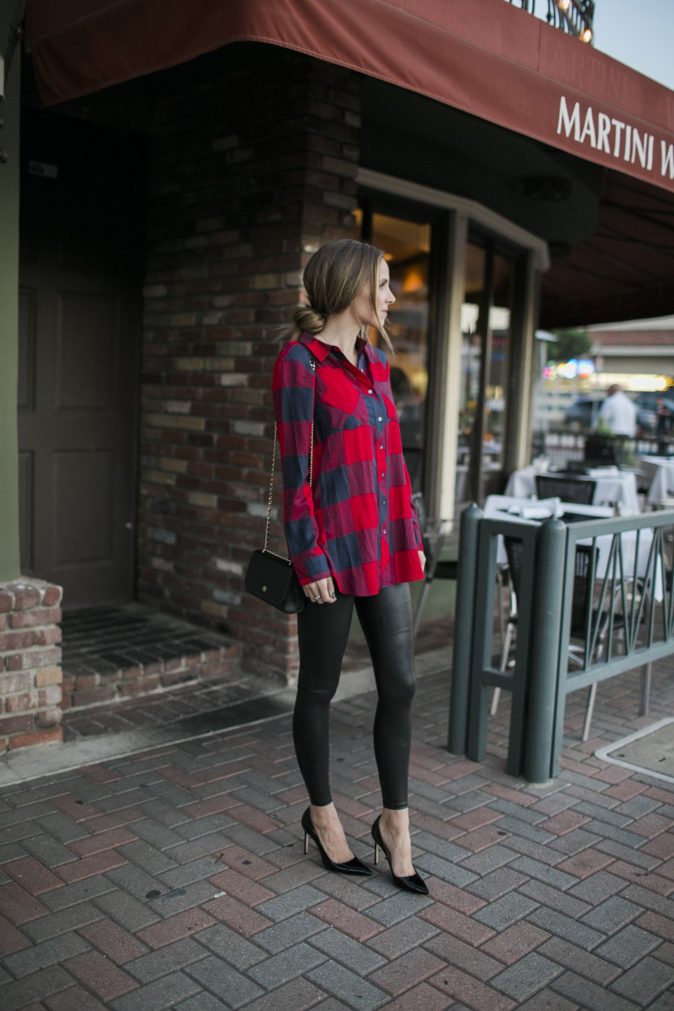 try your leather leggings for date night!