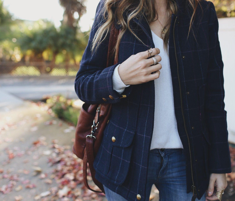 Merrick's Art Plaid Wool Jacket