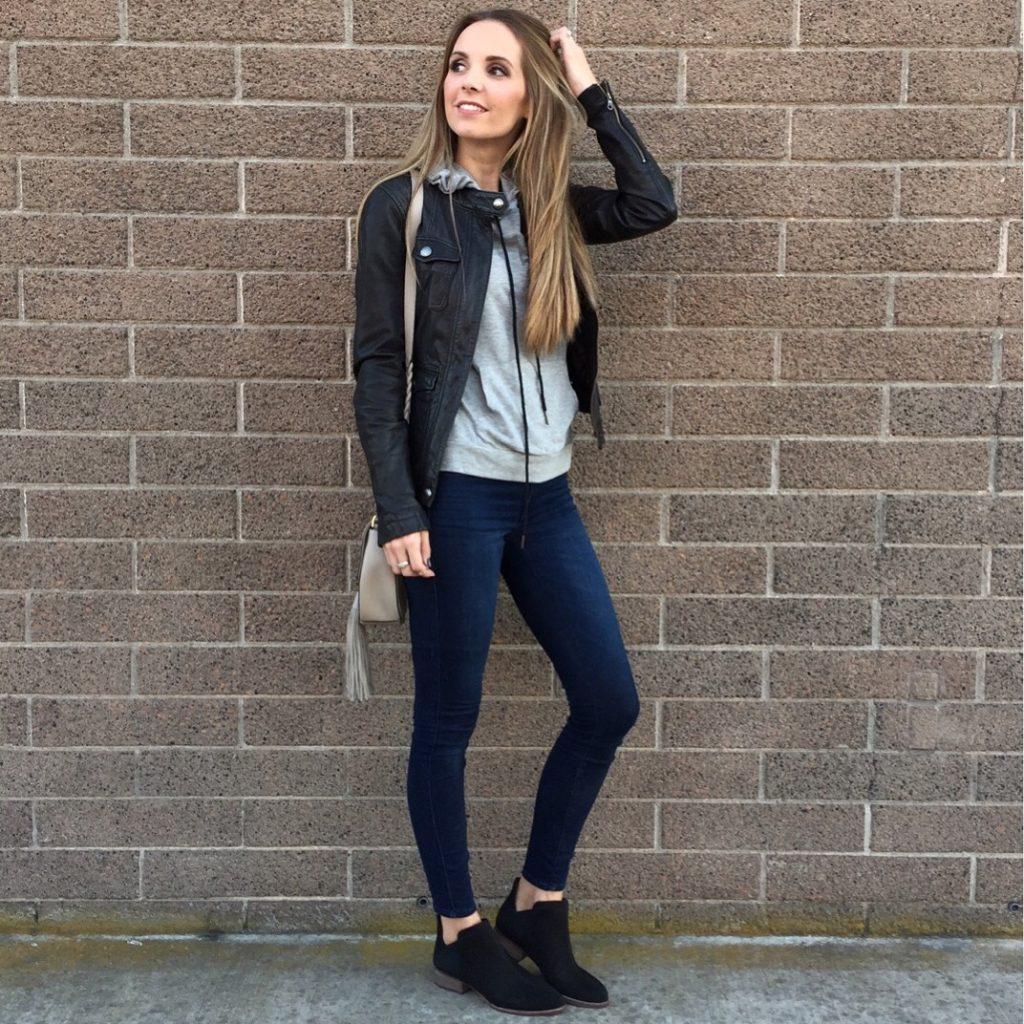 sweatshirt-and-leather-jacket