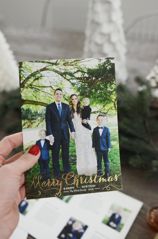 Merrick's Art Family Christmas Card