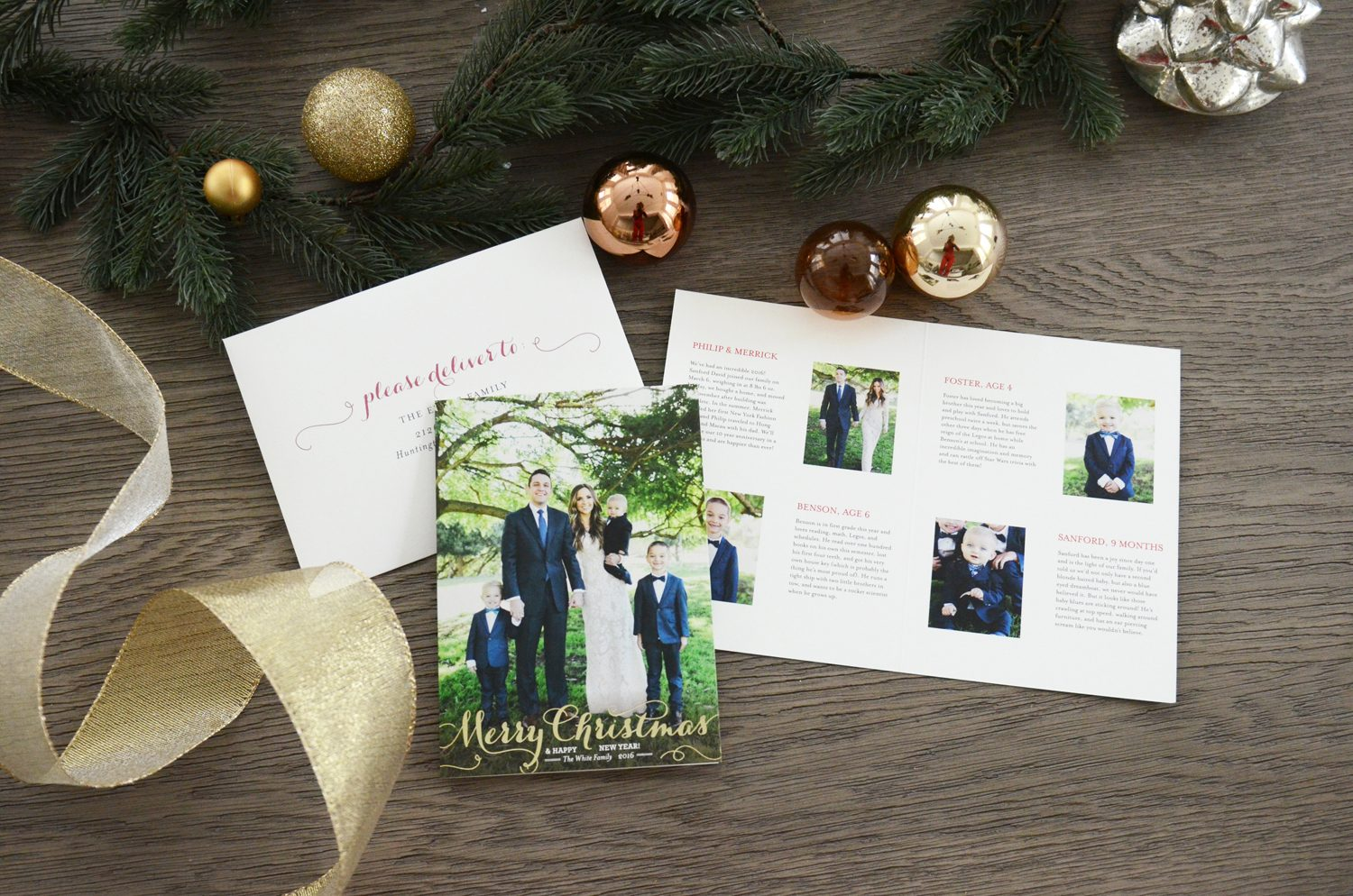 Merrick's Art Minted Holiday Cards
