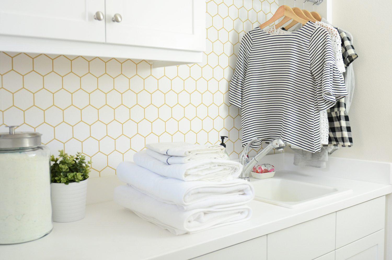 Merrick's Art Laundry Room