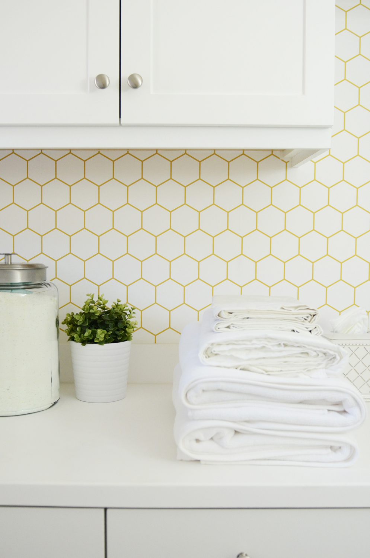 Merrick's Art Laundry Room Wallpaper