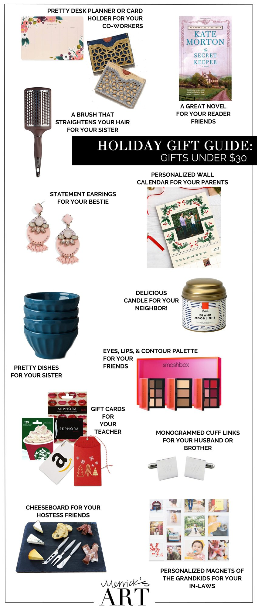 Merrick's Art Gifts under $30