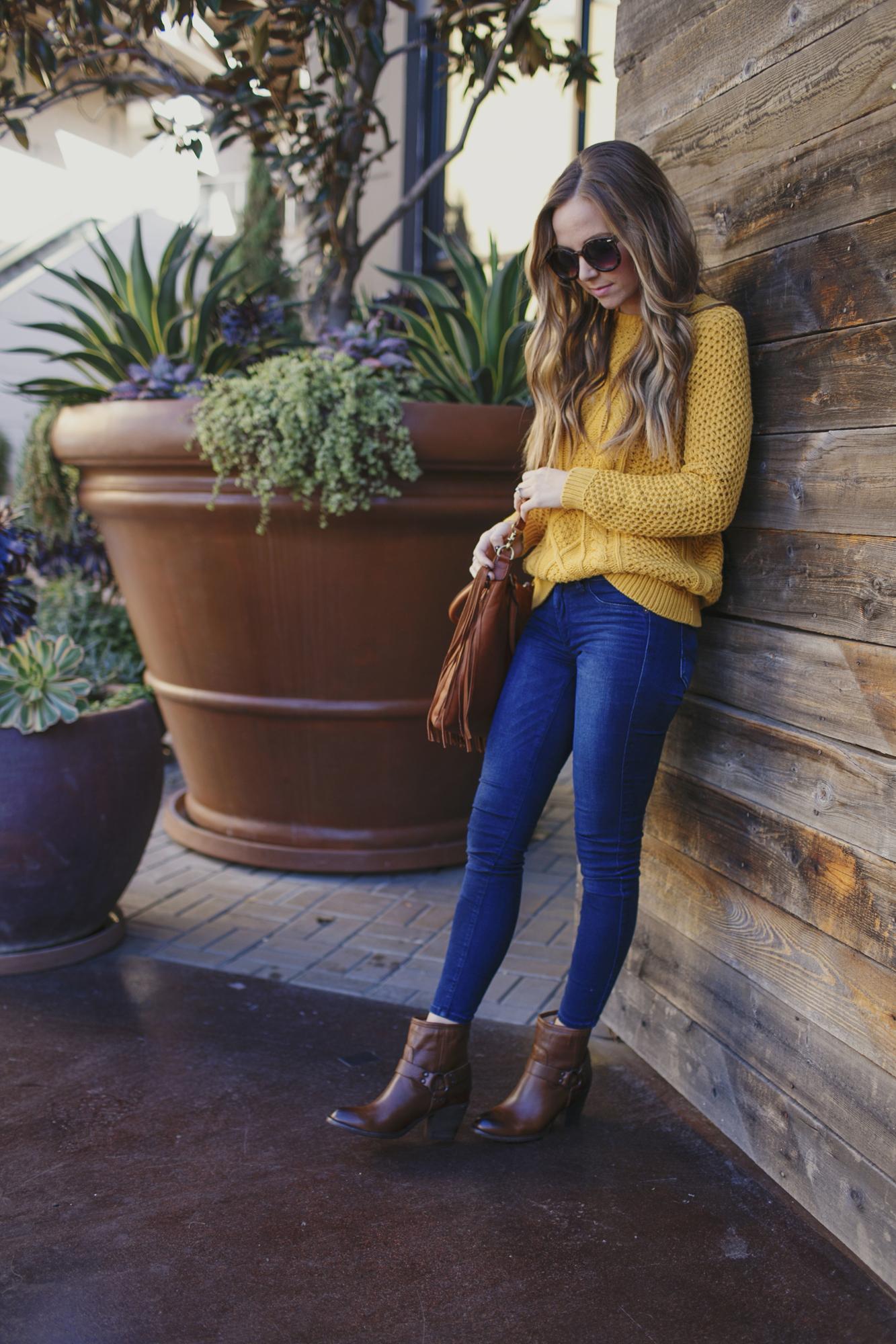 Merrick's Art Mustard Sweater
