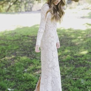 Merrick's Art Lace Maxi Dress