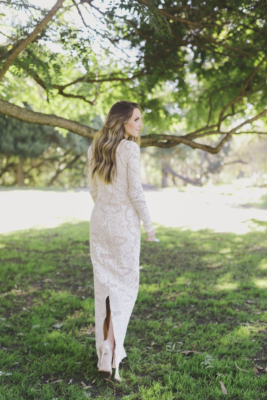 Merrick's Art Lace Maxi Dress