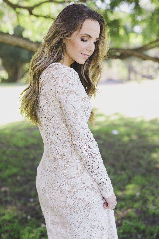 Lace Maxi Dress DIY
