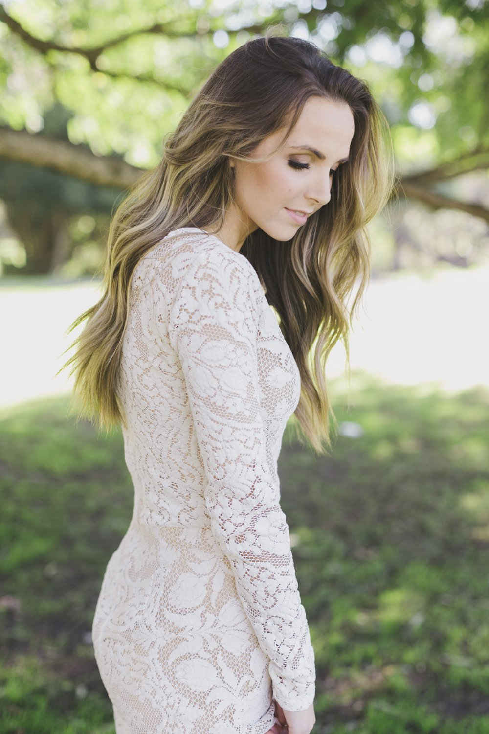 Merrick's Art Lace Dress