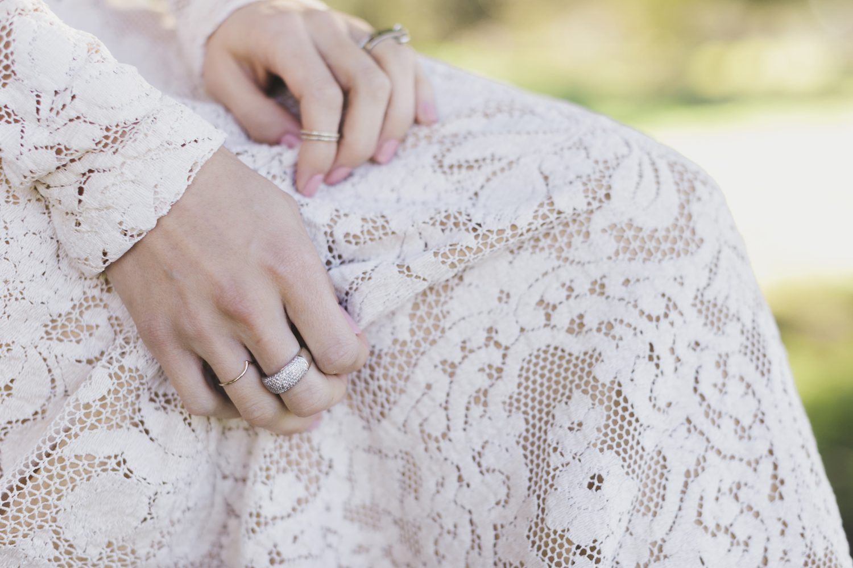 Vintage Quaker Lace Tablecloth turned Dress