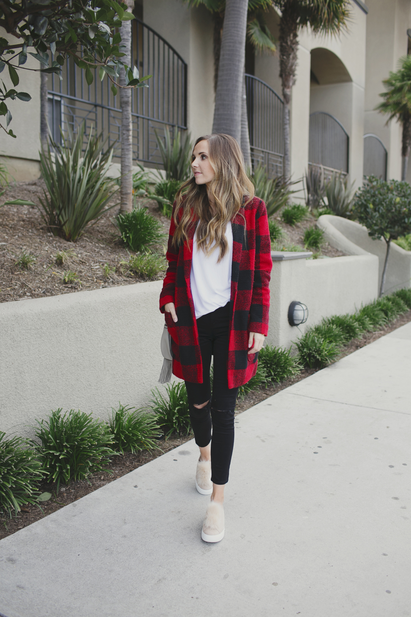 Merrick's Art Buffalo Plaid Coat