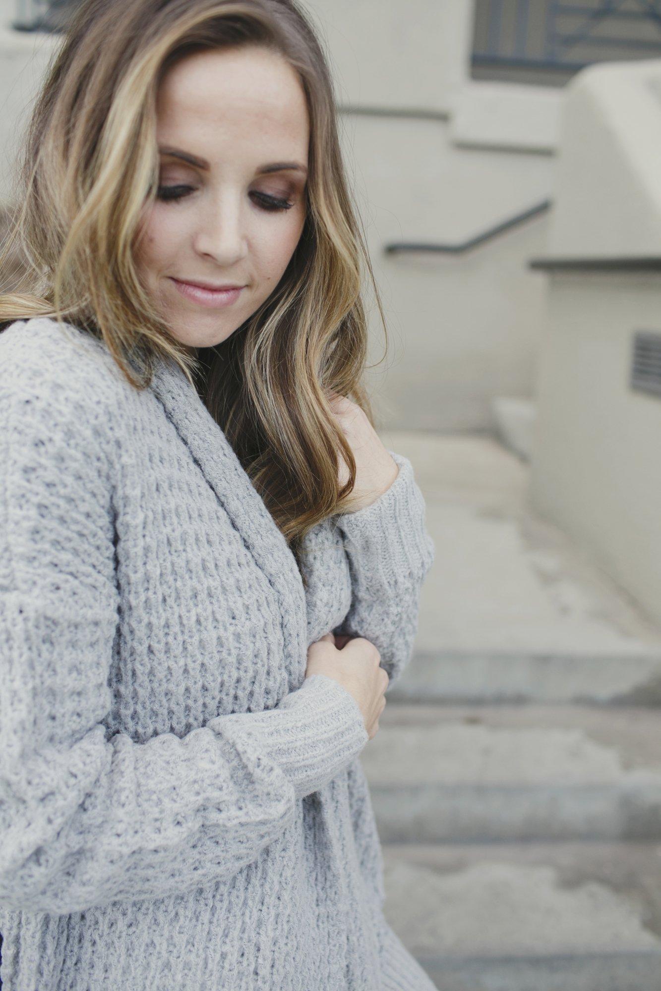 Merrick's Art Waffle Knit Sweater