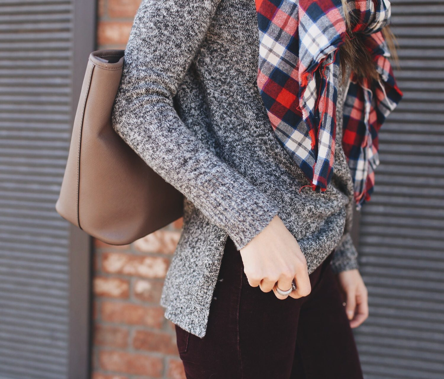 American Eagle Gray Sweater