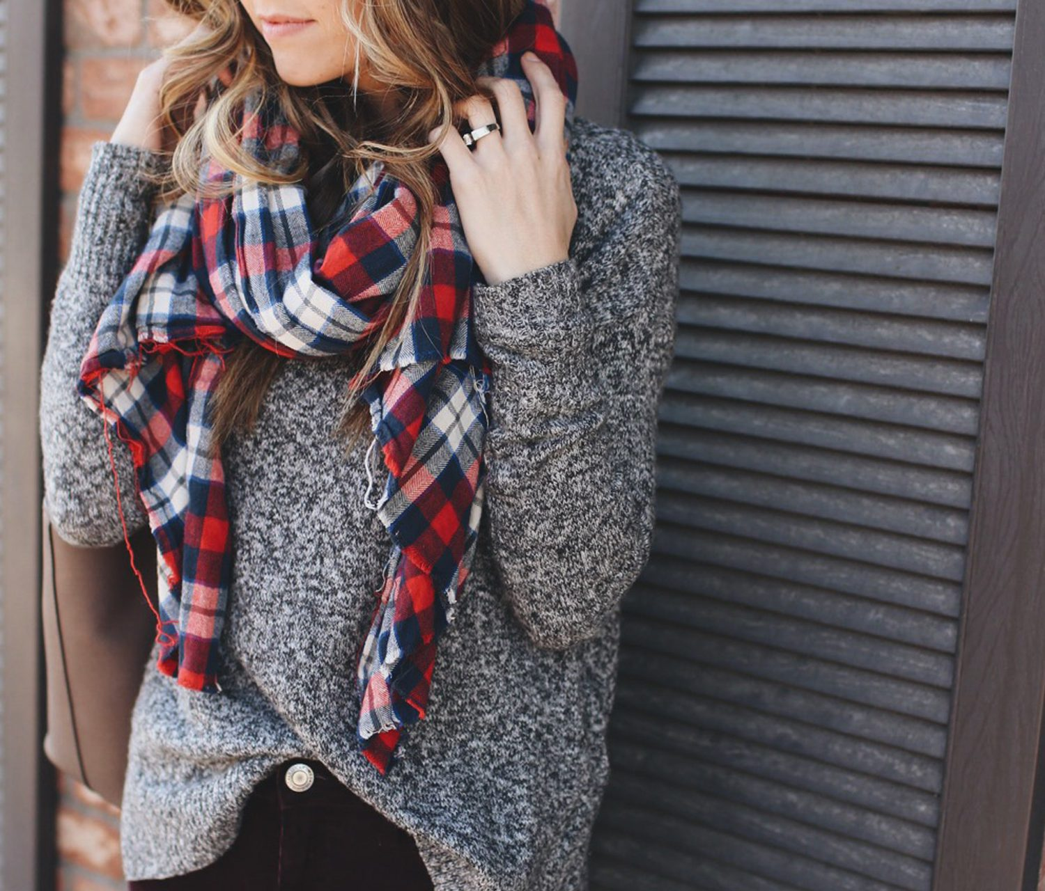 Merrick's Art Plaid Blanket Scarf