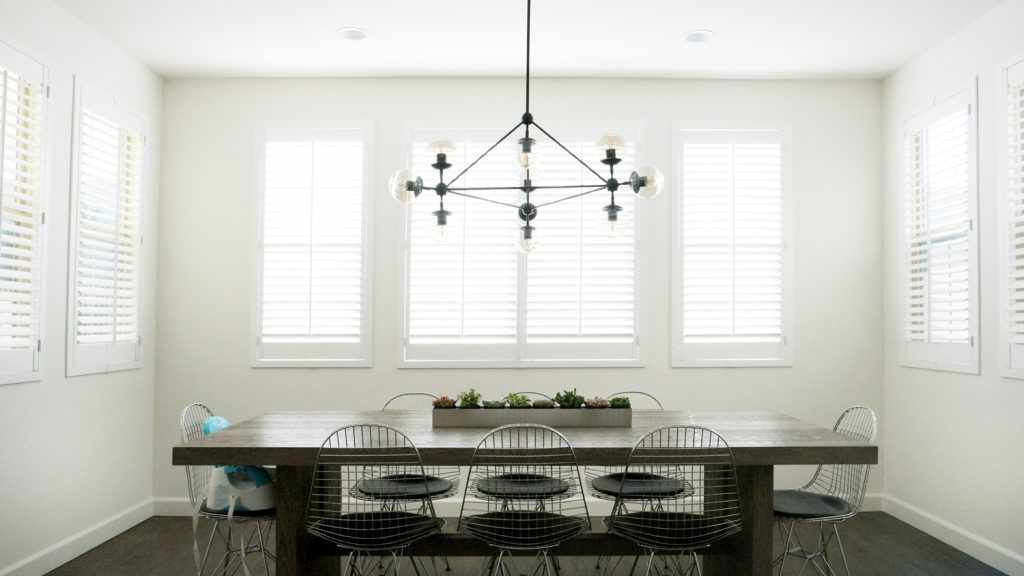 Merrick's Art Dining Room Blinds.com