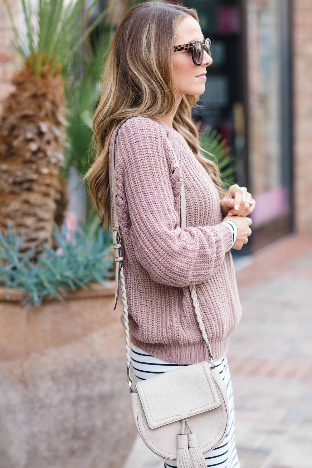 Merrick's Art Cable Knit Sweater