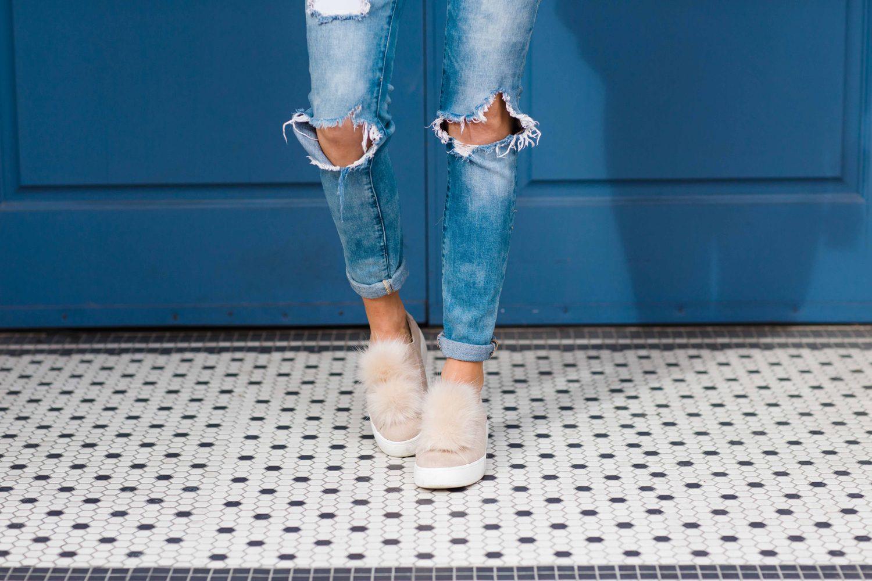 Merrick's Art Fur Sneakers