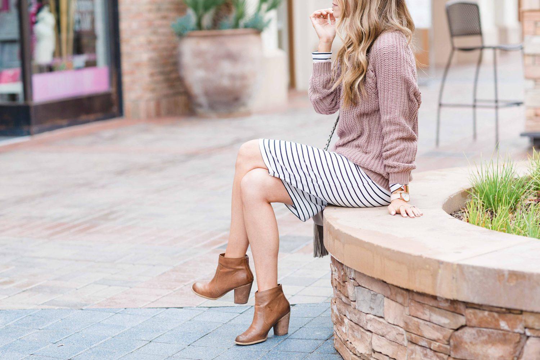 Merrick's Art Skirt and Boots