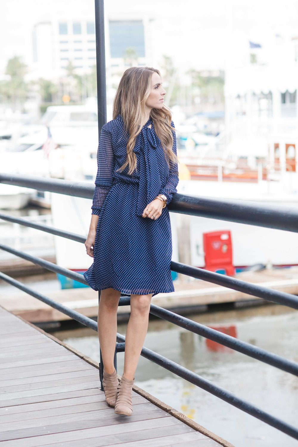 Merrick's Art Nautical Blue Dress