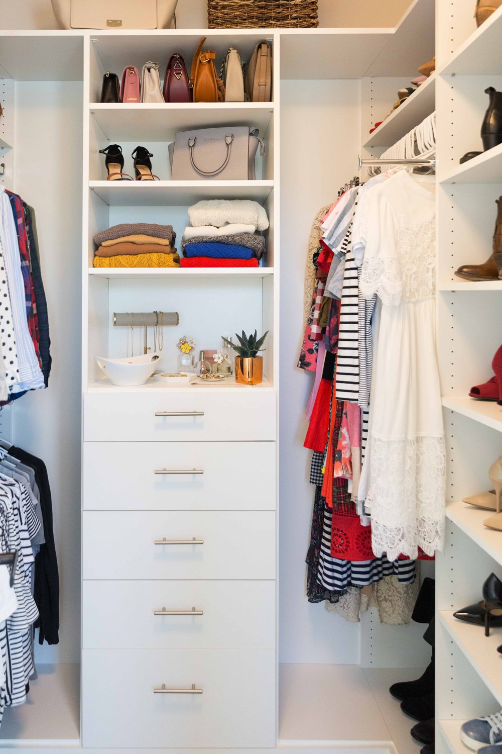 My Closet Reveal + 6 Ways To Maximize Closet Space