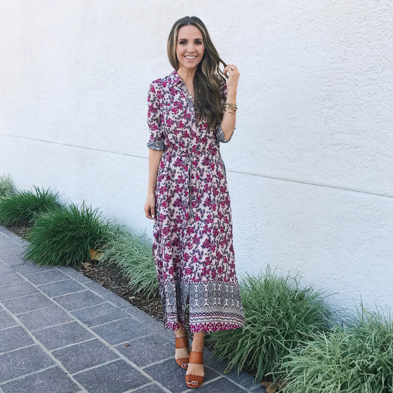 Merrick's Art Floral Maxi Dress