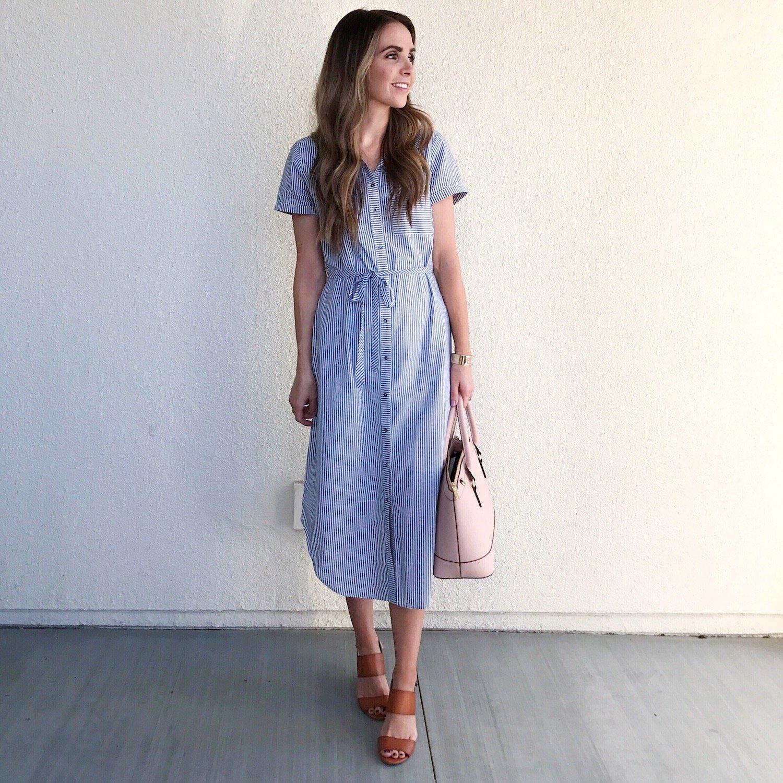 Merrick's Art Abercrombie Shirt Dress