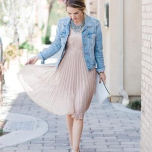 Merrick's Art Blush Dress