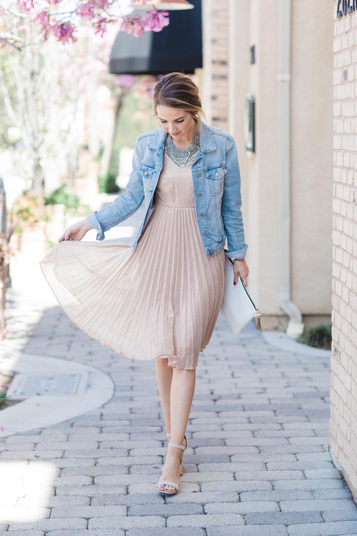 Merrick's Art Blush Dress