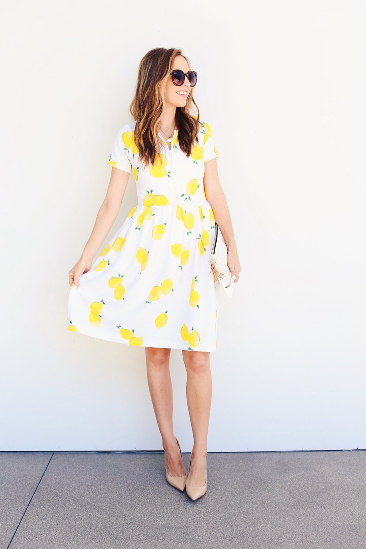 Merrick's Art DIY Lemon Dress