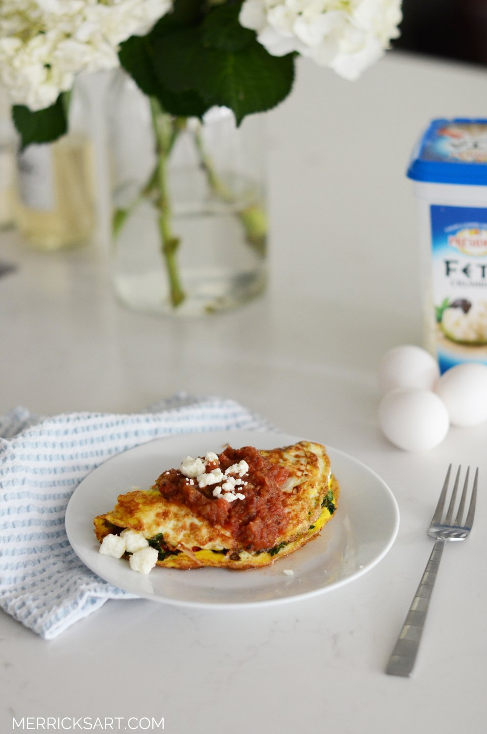 Merrick's Art Easy Breakfast Omelet