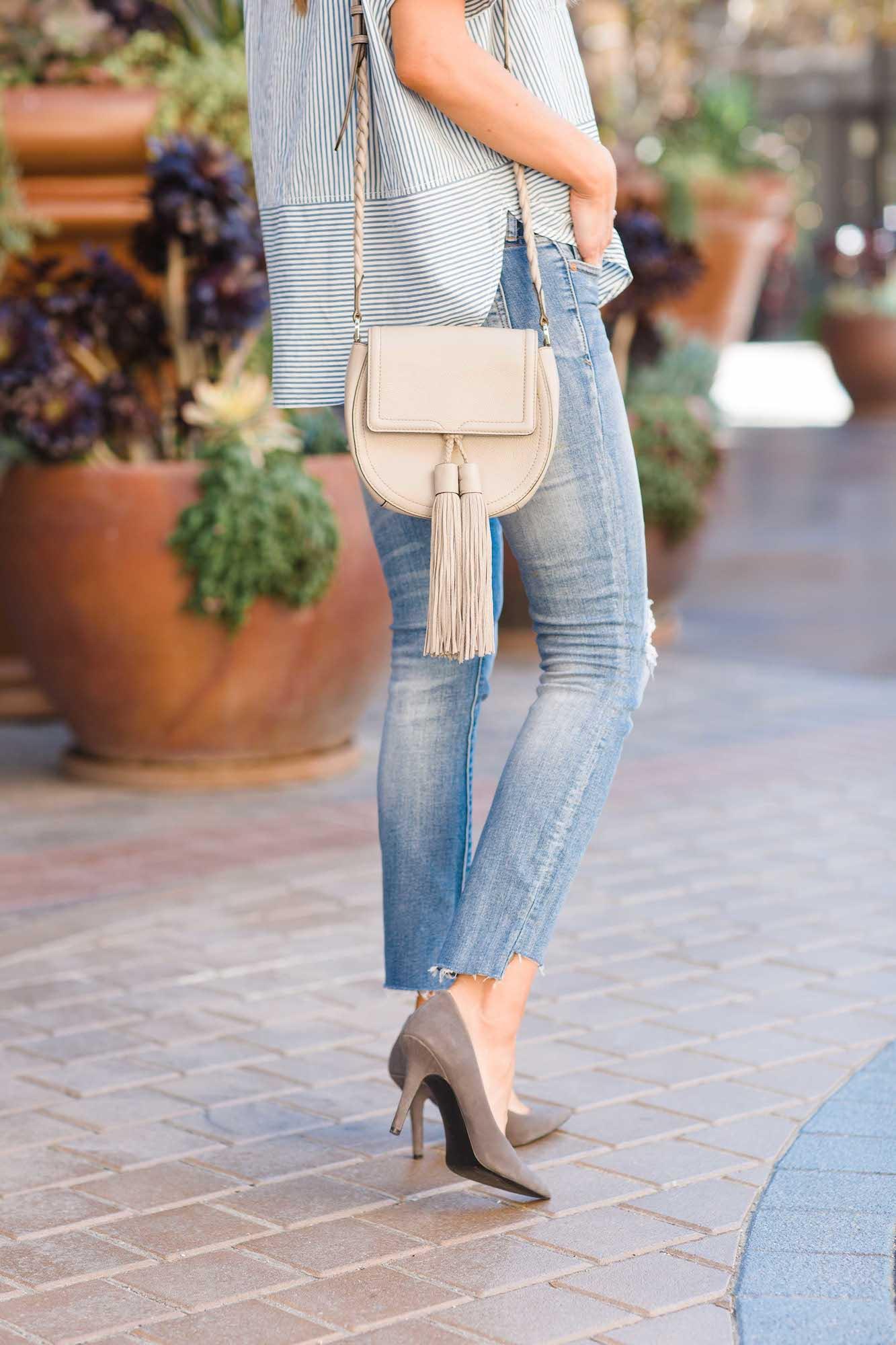 Merrick's Art Easy DIY Jeans Refashion