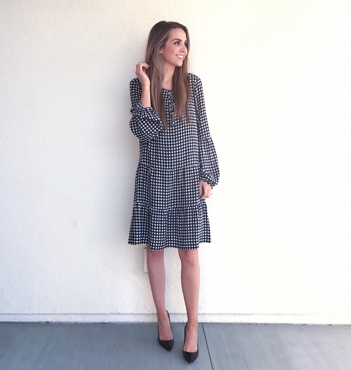 Merrick's Art Gingham Sanctuary Dress
